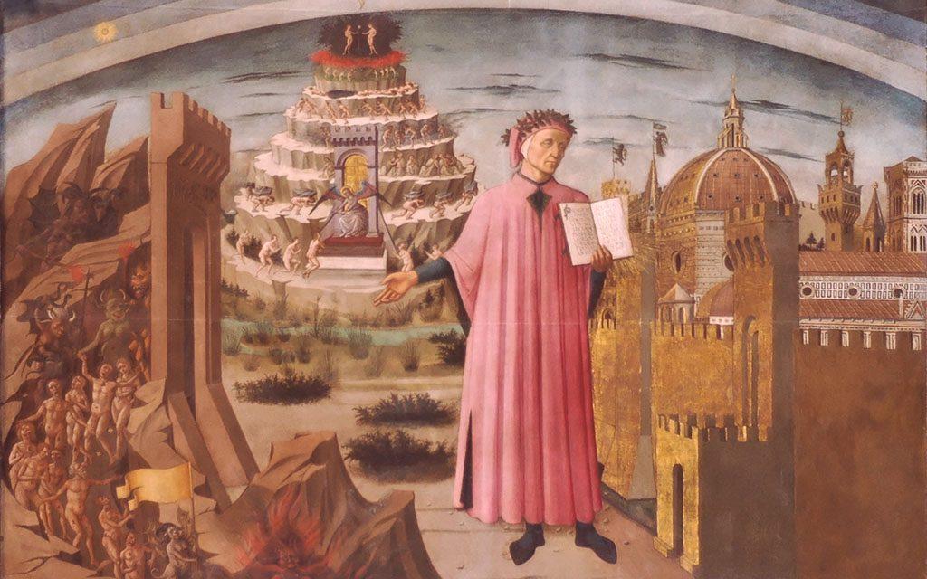 Dante Alighieri - Domenico di Michelino
