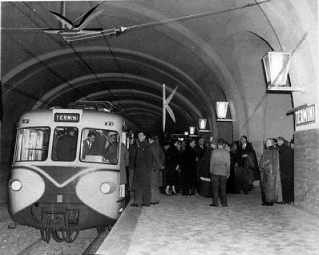 Tecnologie sottorranee nel 1955